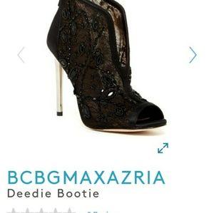 Bcbgmaxaria black heels